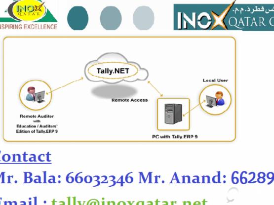 Tally Customization Services...