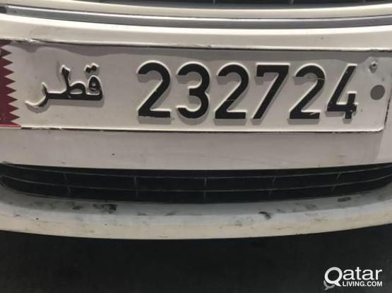 232724 number plate for sale