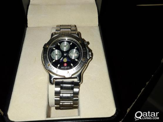 MICHELE watch very good condition