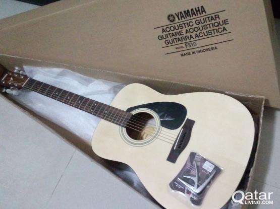 For Sale Yamaha Acoustic Guitar Brandnew And Guitar Qatar Living