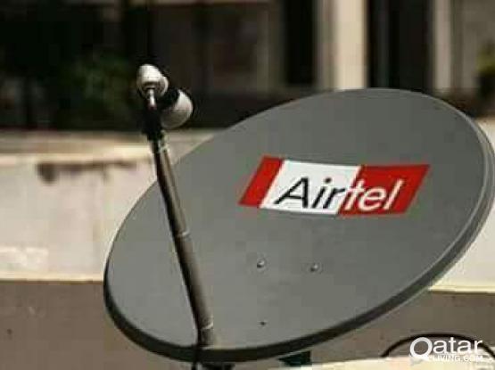 I do any satellite dish tv work & receiver sel