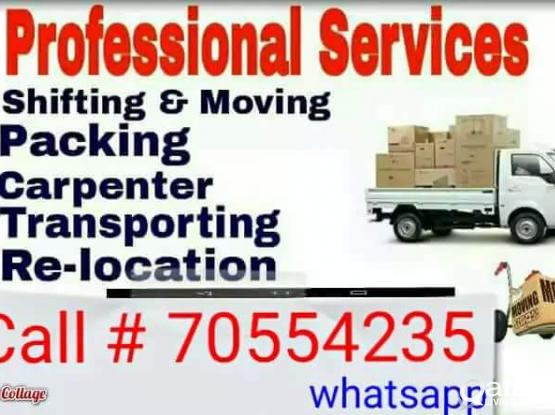 Moving shifting service 24 Hours