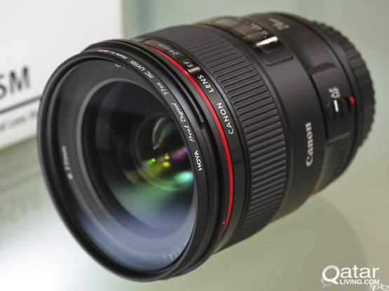 CANON EF 24mm 1.4 L    USM ALMOST NEW