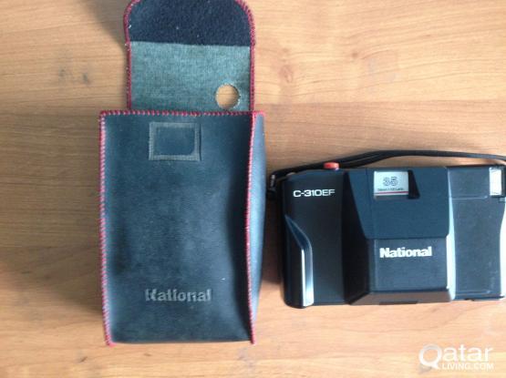 Antique National 1974 model camera for sale.