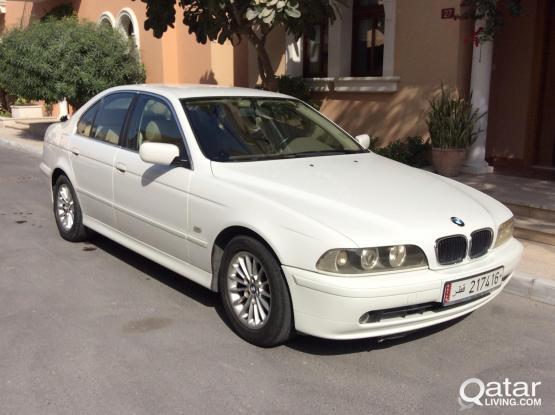 BMW 5-series 525 i 2001
