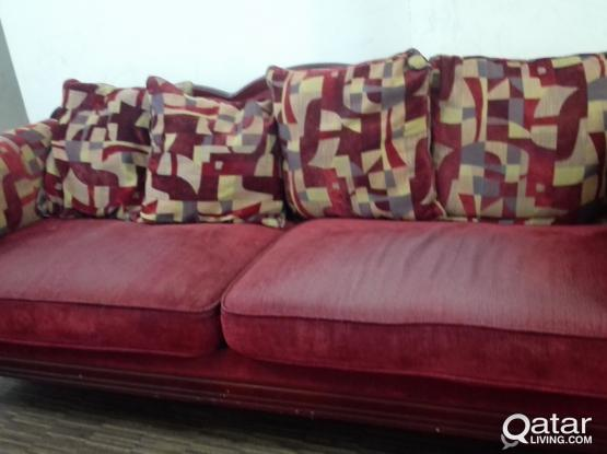 6 SEAT SOFA ONLY FOR 350