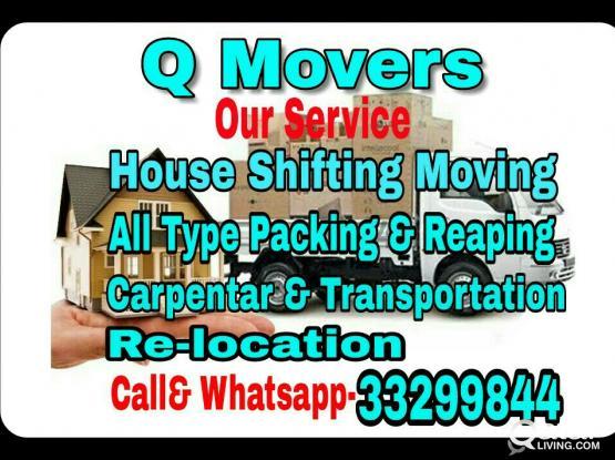Moving Shifting Carpenter Packing Call:33299844