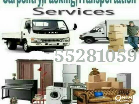 Moving shifting carpenter service 24 hours call