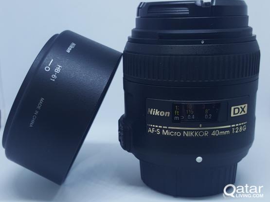 Nikon AF-S DX Micro NIKKOR 40mm f/2.8G- New