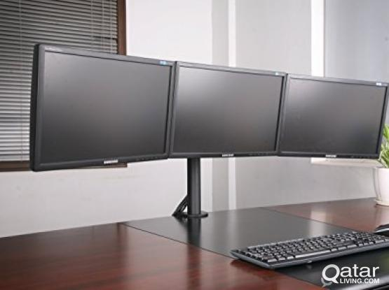 TRIPLE MONITOR STAND (NEW).