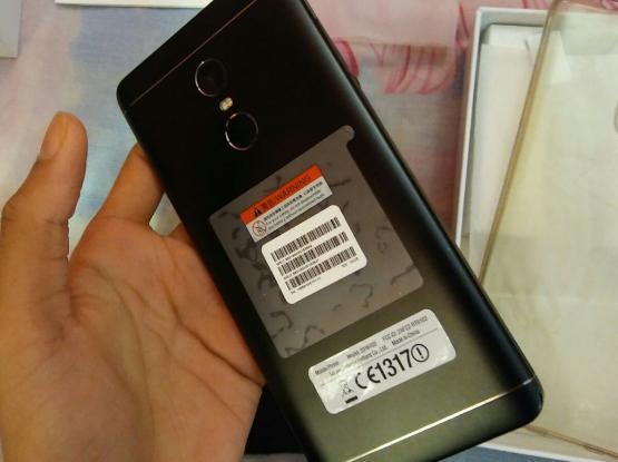 XIAOMI REDMI NOTE 4X MATT BLACK COLOR 32GB