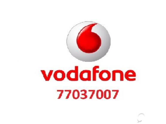 Vodafone Number 77037007