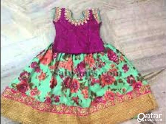 Lady Tailor: Will Stitch all types of Indian Ladies and Kids Dresses