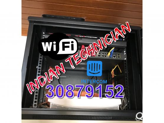 It services networking wifi setting internet setting cctv network cabling printer setup in