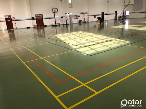 Availability of  Indoor Badminton Facility at Garafa.