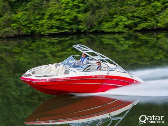 Yamaha 242 S Jet Boat + Jet Dock