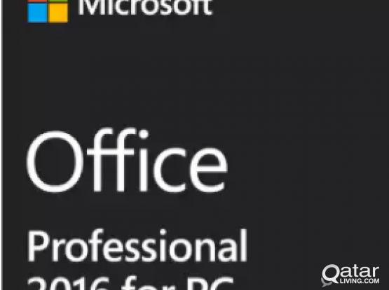 Microsoft Office 2016 Pro Plus License Product Key Code