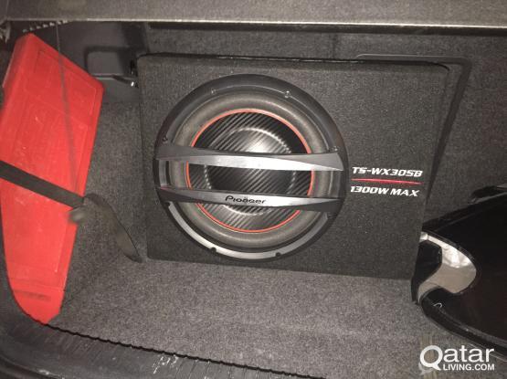 Pioneer TS-WX305B Subowoofer Bass Reflex (1300W)