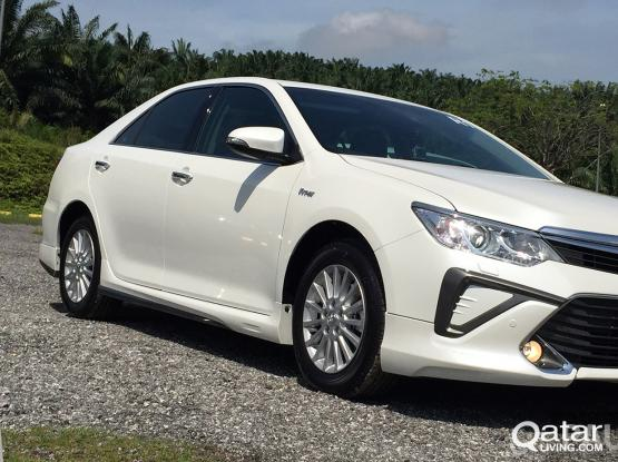 Toyota Camry For Rent QR 2,700 Per Month Call Now :-44152020/30177928