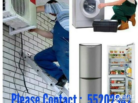A/C, FRIDGE AND WASHING MACHINE REPAIR 55202942