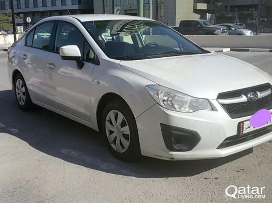 Subaru Imperza 2014