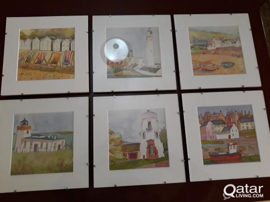Small Water Colour Paintings