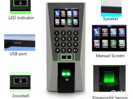 66454992: Biometric Fingerprint Access Control Time Attendance Security System
