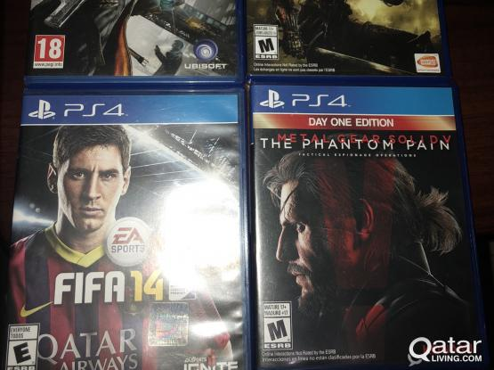 Ps4 games for sale... whatsapp me if you interested
