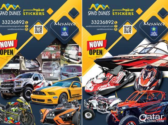Car Stickers & Designing