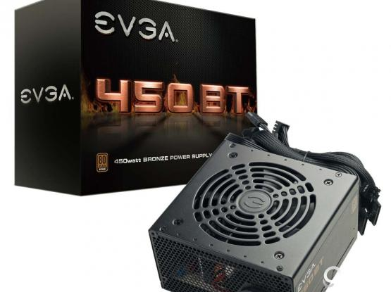 EVGA 450W BT, 80+ Bronze PSU (New Sealed Packed)