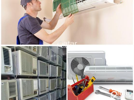 WINDOW & SPLIT TYPE A/C FOR SALE & FIXING AND MAINTENANCE 66343689