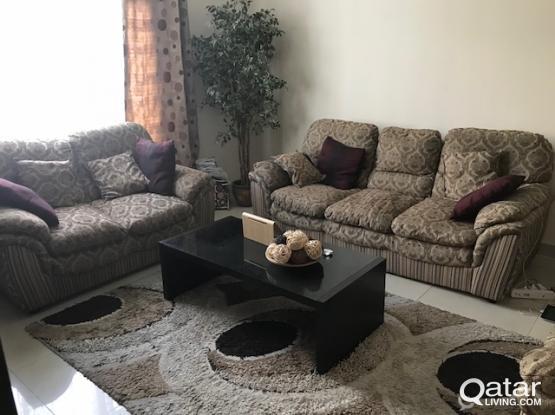 sofa set  ( 6 seater  )