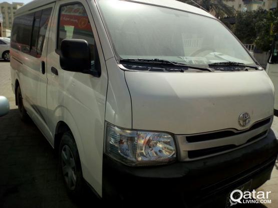 Toyota Hi-Ace 2013