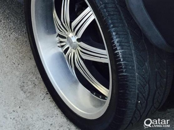 Hummer Tires with IMPORTED Rim