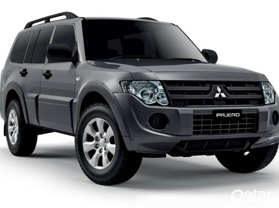 Mitsubishi pajero monthly rate 100 QRS per day