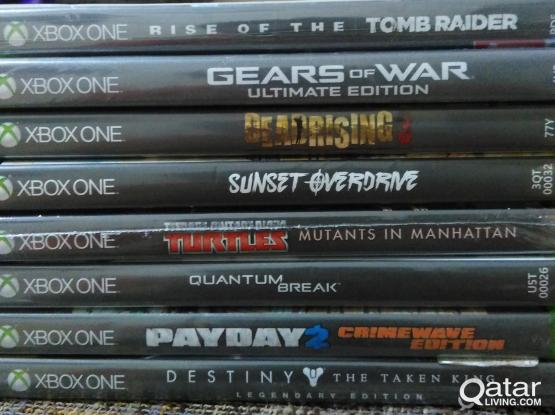 8 Xbox one games bundle.