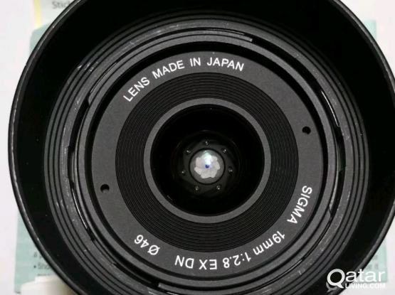 Sigma E mount 19mm f2.8 (sony lens) AUTO FOCUS