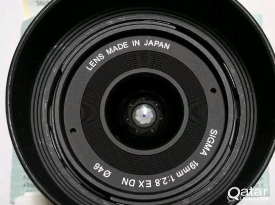 Sigma E mount 19mm f2.8 (sony lens) AUTO FOCUS