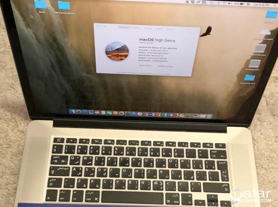 MacBook Pro (Retina, 15in, Mid2015) 500GB