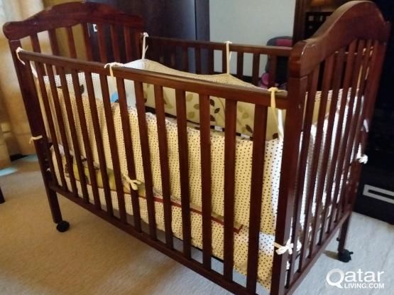 Baby bed and car seat