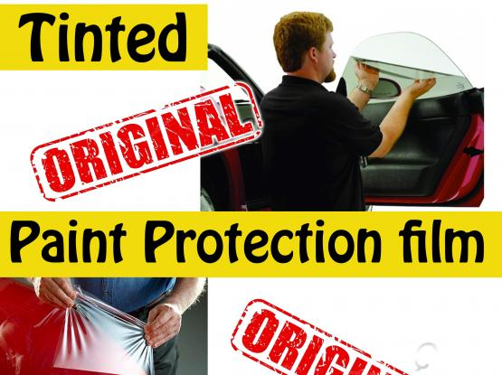 paint protection & tinted