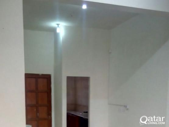 5x5 Bedrooms 2nos,Hall, bath and kitchen