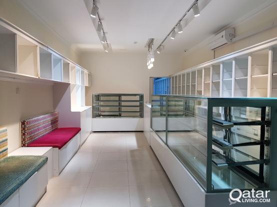 Fully decorated shop in Aziziya محل في العزيزية مع ديكور كامل