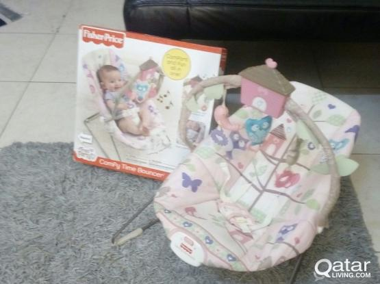 Baby bouncer for sale.