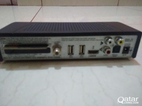 Airtel HD setup box for sale 275 QR