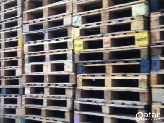 Wooden euro pallets available