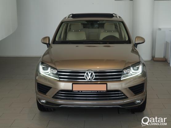 Volkswagen Touareg (Full OptionV6 4x4 in 3,499/month)