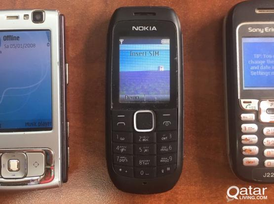 3 MOBILES IN PERFECT CONDITION FOR SALE