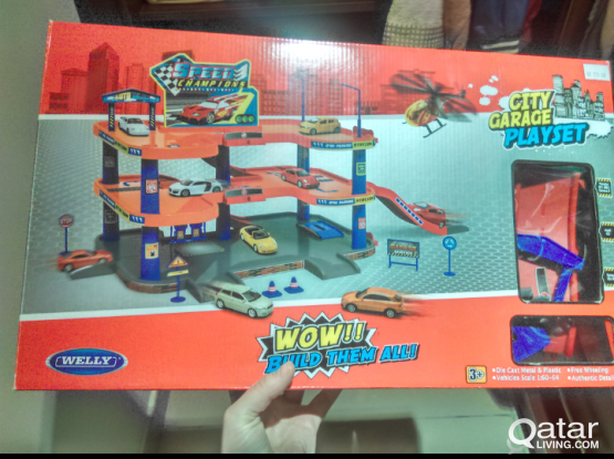 Car garage original box