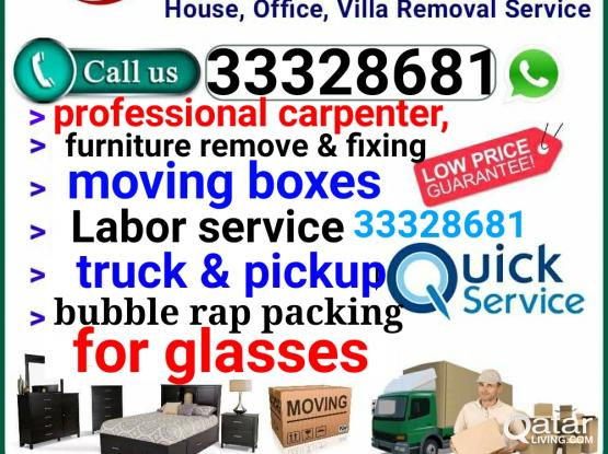 Qatar best Movers ,professional carpenter,packing,transportation,truck & pickup,service  c